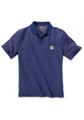 WORK POCKET POLO S/S Dark Cobalt Blue