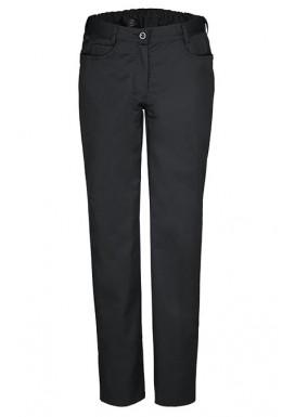 GREIFF Damen Hose 5 Pocket Regular Fit, Schwarz