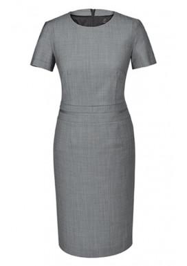 Damen Kleid Hellgrau