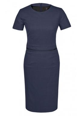 Damen Kleid Dunkelblau