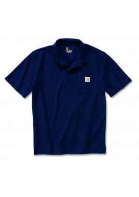 Carhartt WORK POCKET POLO S/S, Navy