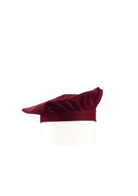 Barett-Mütze Bordeaux