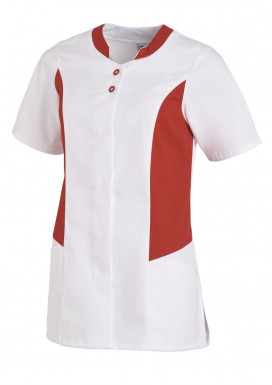 Hosenkasack 1/2 Arm Weiß-Rot