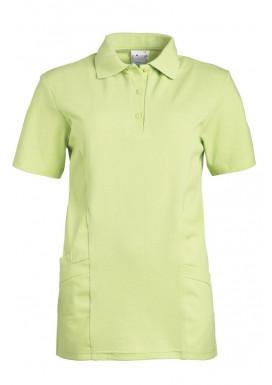 Polo-Schlupfjacke hellgrün