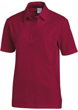 Polo 1/2 Arm beere-bordeaux