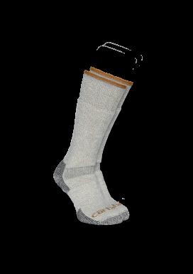 ARCTIC WOOL BOOT SOCK 3x Paar, Heather Grey