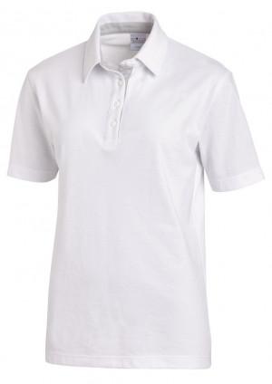 Polo 1/2 Arm Weiß-silber Arbeitsschutzbekleidung Bild
