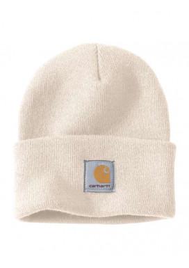 Carhartt ACRYLIC WATCH HAT, Winter White