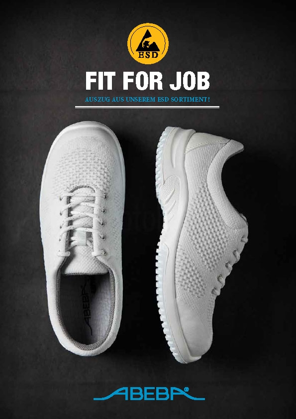Abeba ESD Schuhe Katalog 2018