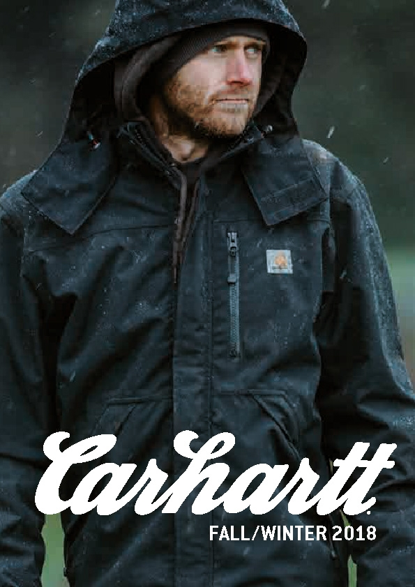 Carhartt Workwear Fall/Winter Katalog 2018