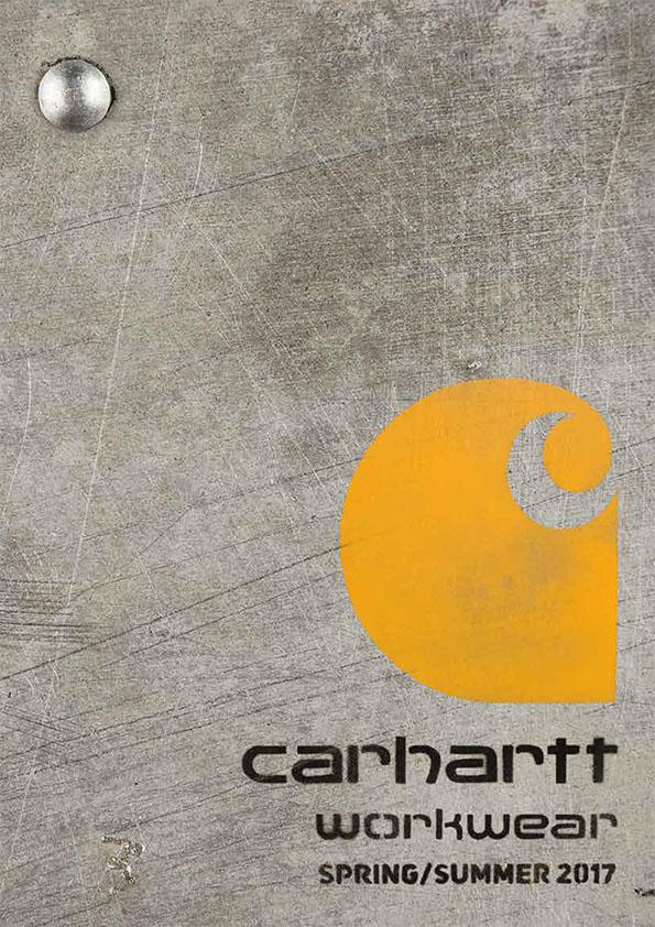 Carhartt Workwear Katalog 2017
