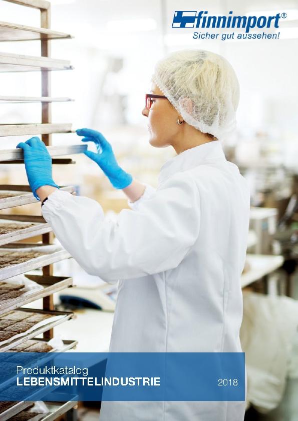 Finnimport Katalog Lebensmittelindustrie 2018