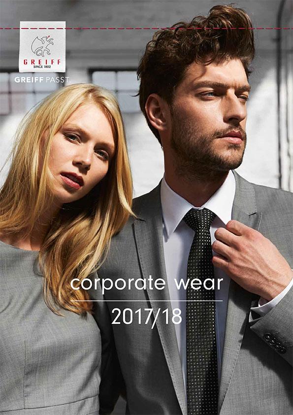 GREIFF Corporate Wear Katalog 2017-2018