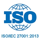 ISO/IEC 27001:2013 Zertifikat 2017